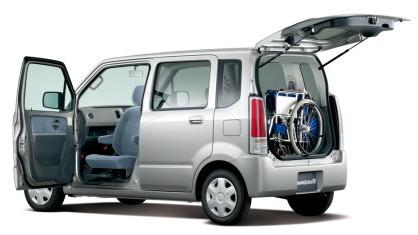 ワゴンR回転スライドシート車