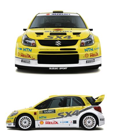 SX4 WRC参戦車